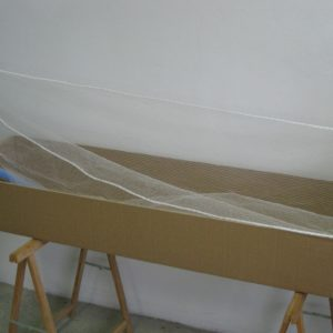 Preparazione del contenimento biodegradabile per la reinumazione dei resti inconsunti